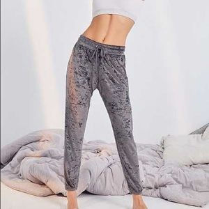 Out From Under Velvet Joggers